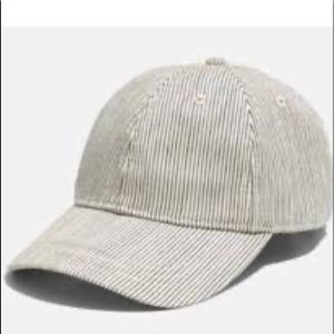 Madewell striped textured hat